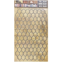 "Picture of 7 Gypsies Architextures Adhesive Tall Base 9""X6"" - Chicken Wire"