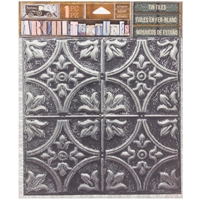 Εικόνα του 7 Gypsies Architextures Adhesive Tin Tiles - Tarnished Silver