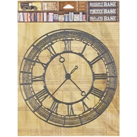 "Picture of 7 Gypsies Architextures Adhesive Short Base 6""X6"" - Clock"