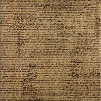Picture of Printed Burlap Sheet 30.5X30.5 - Black French Script