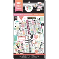 Picture of Create 365 Happy Planner Sticker Value Pack - Productivity