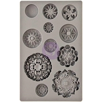 Picture of Iron Orchid Designs Vintage Art Decor Mould - Medallions
