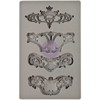 Picture of Iron Orchid Designs Vintage Art Decor Mould - Royale