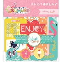 Εικόνα του For The Love Of Summer Ephemera Cardstock Die-Cuts