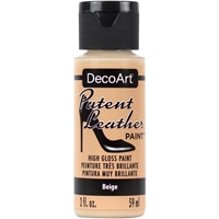 Εικόνα του DecoArt Patent Leather Paint - Beige