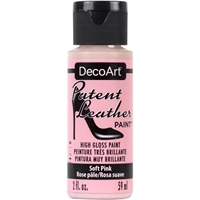 Εικόνα του DecoArt Patent Leather Paint - Soft Pink