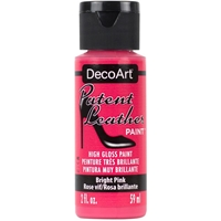 Εικόνα του DecoArt Patent Leather Paint - Bright Pink