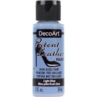Picture of DecoArt Patent Leather Paint - Light Blue