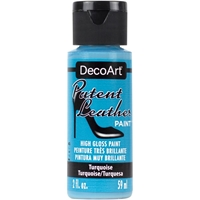 Εικόνα του DecoArt Patent Leather Paint - Turquoise