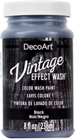 Εικόνα του DecoArt Vintage Effect Wash - Black
