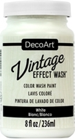 Picture of DecoArt Vintage Effect Wash - White