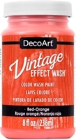 Εικόνα του DecoArt Vintage Effect Wash - Red Orange