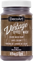 Εικόνα του DecoArt Vintage Effect Wash - Brown