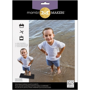 Picture of MAMBI Printable Shrink Plastic