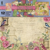 Picture of Hot off the Press Scrapbooking Paper Pack - Song Birds
