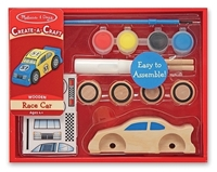 Picture of Decorate Your Own Wooden Kit - Race Car