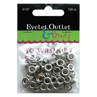 "Picture of Eyelets & Washers - 3/16"" Inch"