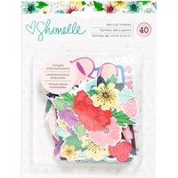 Picture of Shimelle Little By Little Ephemera Die-Cuts - Embossed