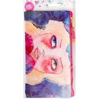 Picture of Jane Davenport Mixed Media Zippered Pencil Pouch