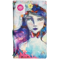"Picture of Jane Davenport Butterfly Effect Canvas Cover Book 5""x9"" - Girl"