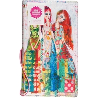 "Picture of Jane Davenport Butterfly Effect Canvas Cover Book 5""x9"" - Sisters"