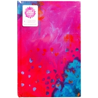 "Picture of Jane Davenport Mixed Media Canvas Cover Journal 9""X6"" - Abstract"