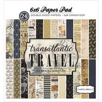 Εικόνα του Carta Bella Μπλοκ Χαρτιων 15Χ15 - Transantlantic Travel