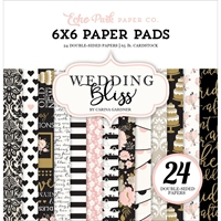 Picture of Echo Park Double-Sided Paper Pad 6X6 - Wedding Bliss