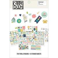 Εικόνα του Carpe Diem A5 Stickers - Home
