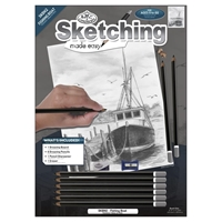 "Picture of Royal & Langnickel Sketching Made Easy Kit 9""X12"" - Fishing Boat"