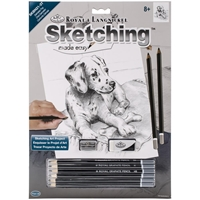 "Εικόνα του Royal & Langnickel Sketching Made Easy Kit 9""X12"" - Dalmatian Pup"