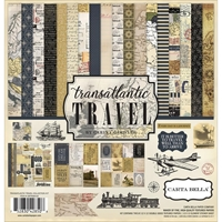 Picture of Carta Bella Collection Kit 12X12 - Transatlantic Travel