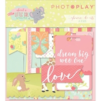 Picture of Photo Play About A Little Girl Ephemera Cardstock Die-Cuts
