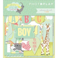 Εικόνα του Photo Play About A Little Boy Ephemera Cardstock Die-Cuts