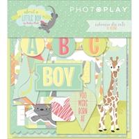 Εικόνα του Photo Play About A Little Boy Ephemera Cardstock Die-Cuts