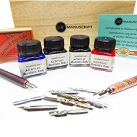 Picture of Manuscript Calligraphy Artist Set