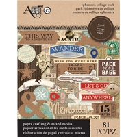 Picture of Art-C Ephemera Collage Pack - Travel