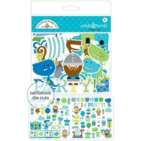 Picture of Doodlebug Odds & Ends Die-Cuts - Dragon Tails