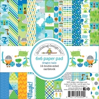 Picture of Doodlebug Double-Sided Paper Pad 15X15 - Dragon Tails