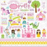 Εικόνα του Echo Park Lori Whitlock Perfect Princess Cardstock Stickers - Elements