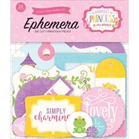 Picture of Echo Park Lori Whitlock Perfect Princess Ephemera Cardstock Die Cuts - Icons