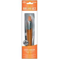 Picture of Gold Taklon Value Pack Brush Set