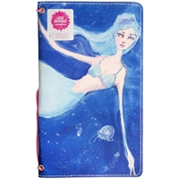 "Picture of Jane Davenport Butterfly Effect Canvas Cover Book 5""x9"" - Mermaid"