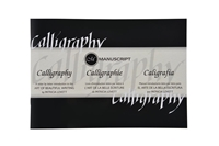 Picture of Manuscript Calligraphy Manual - Letter By Letter Introduction