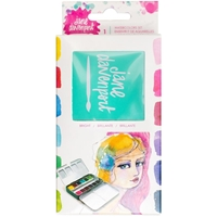 Picture of Jane Davenport Mixed Media Petite Palette Watercolor Set - Brights