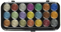 Picture of Yasutomo Pearlescent Watercolor - Χρώματα Ακουαρέλας - Set of  21