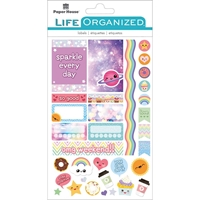 Picture of Paper House Life Organized Planner Stickers - Kawaii Fun