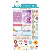 Εικόνα του Paper House Life Organized Planner Stickers - Kawaii Fun