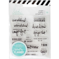 Picture of Heidi Swapp Memory Planner Clear Stamps - Day
