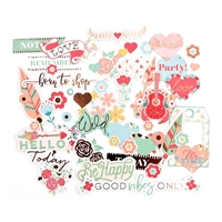 Picture of My Prima Planner Ephemera Cardstock Die-Cuts - Be Happy